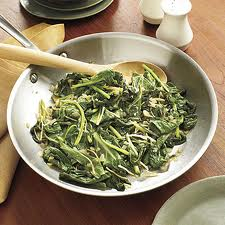 Sweet and Tangy Sauteed Collard Greens