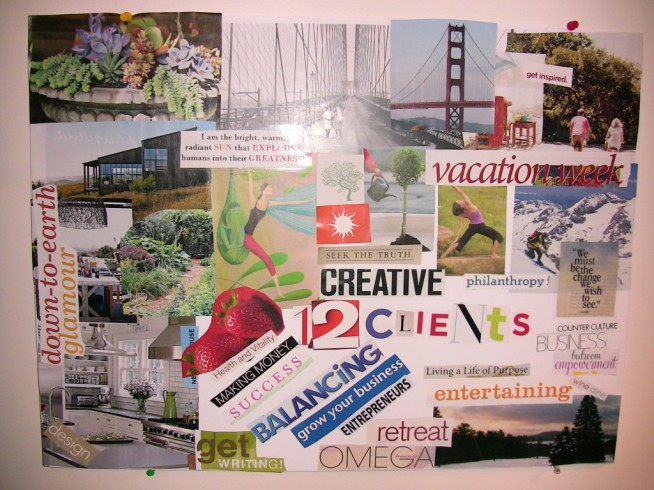 New Blog Post On Redoing Your Vision Board