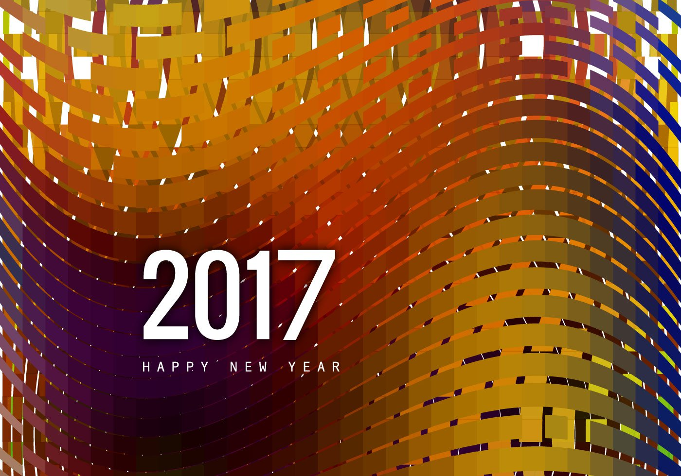 vector-greeting-card-of-happy-new-year-2017